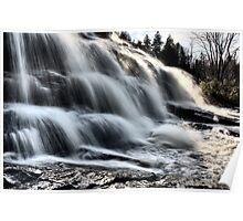 Northern Michigan UP Waterfalls Upper Peninsula Autumn Fall Colors Poster