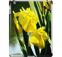 Yellow Irises ipad case iPad Case/Skin
