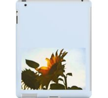 I'd Send You A Flower - A Sunflower Bright iPad Case/Skin