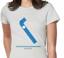 Station Acadie Womens Fitted T-Shirt