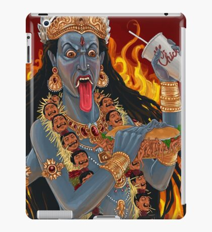 Kali Maa Hates Pickles iPad Case/Skin