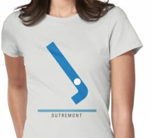 Station Outremont Womens Fitted T-Shirt