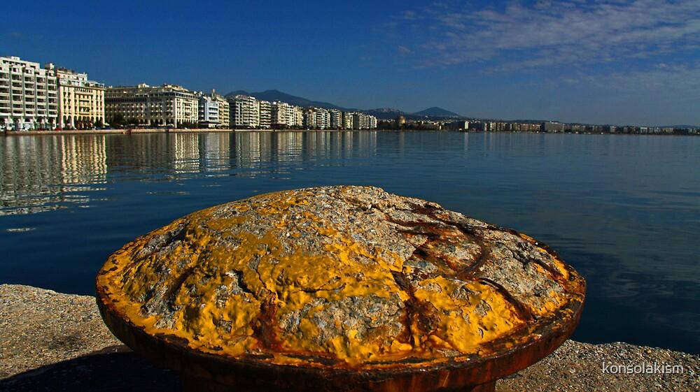 salonika port by konsolakism