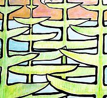 Rose sunrise, through the pines, terns devine. by grarbaleg