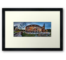 Colosseo Panorama Framed Print