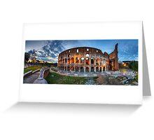 Colosseo Panorama Greeting Card