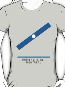 Station Université-de-Montréal T-Shirt