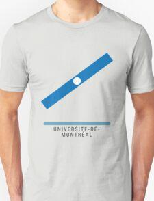 Station Université-de-Montréal Unisex T-Shirt