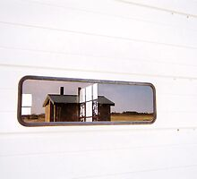 Plum Island, Reflections #4, April 2012 by jenjohnson1968