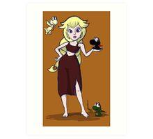 Dragon Princess, mother of Yoshis Art Print