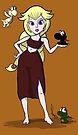 Dragon Princess, mother of Yoshis by Nana Leonti