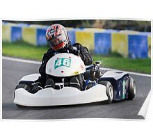 Unknown driver #46 Poster