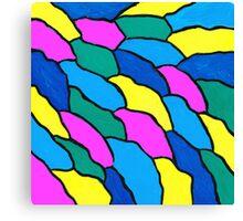 THE COLOR WAVE Canvas Print