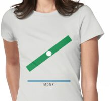 Station Monk Womens Fitted T-Shirt