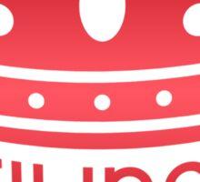 Stilinski Is Our King Sticker