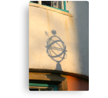 Globe Shadow Canvas Print