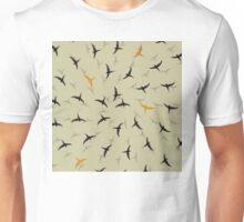 spiral birds Unisex T-Shirt