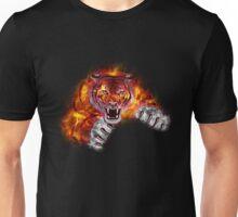 Fire Tiger Unisex T-Shirt