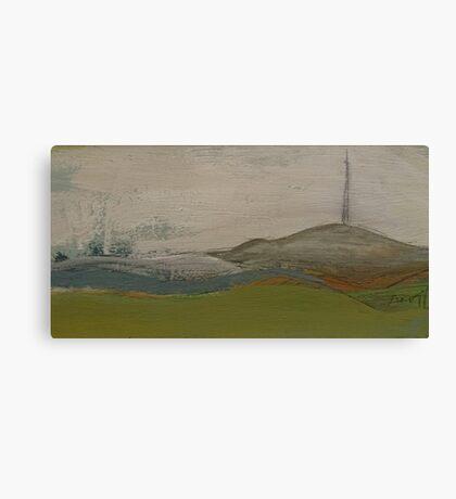 emley moor tower (mast) Canvas Print