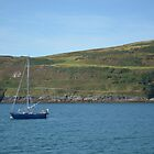 Boat in Port Erin Bay by AbbieeHarveyy