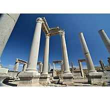 Ancient columns of Perge Photographic Print