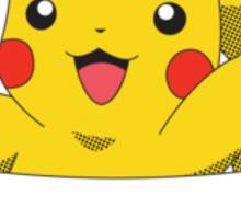 Pocket Monster - Pikachu Sticker