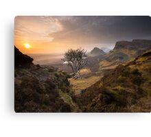 Isle of Skye: Quiraing Sunrise Canvas Print