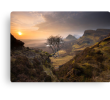 Isle of Skye: Quiraing Sunrise Canvas Print