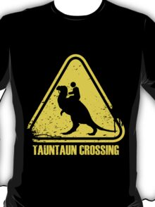 Beware! Tauntaun Crossing! T-Shirt