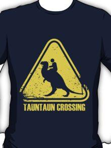 Beware! Tauntaun Crossing! T-Shirt