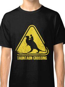 Beware! Tauntaun Crossing! Classic T-Shirt