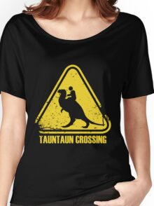Beware! Tauntaun Crossing! Women's Relaxed Fit T-Shirt