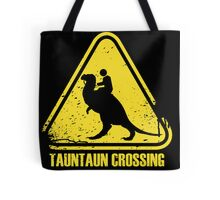 Beware! Tauntaun Crossing! Tote Bag