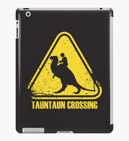 Beware! Tauntaun Crossing! iPad Case/Skin