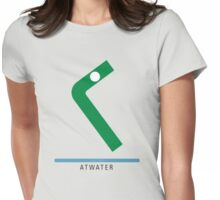 Station Atwater Womens Fitted T-Shirt