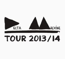 Depeche Mode : Tour 2013/14 Delta Machine - Black by Luc Lambert