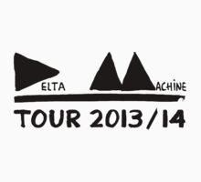 Depeche Mode : Tour 2013/14 Delta Machine - Black by Luc Lambert