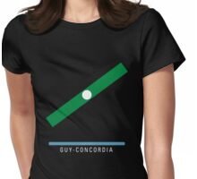 Station Guy-Concordia Womens Fitted T-Shirt