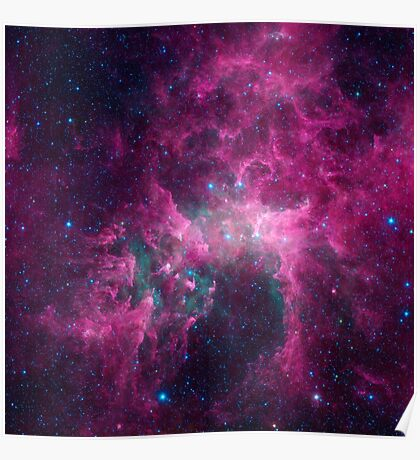 Galaxy universe Poster