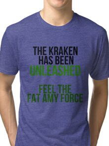 The Fat Amy Force Tri-blend T-Shirt