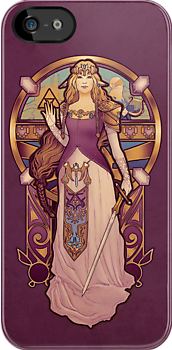 Hylian Nouveau - IPHONE by MeganLara