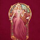 Princess Toadstool Nouveau - IPHONE CASE by MeganLara