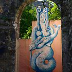 Mr-forwyn Portmeirion Mermaid by Louise Green