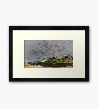 stormy moor Framed Print