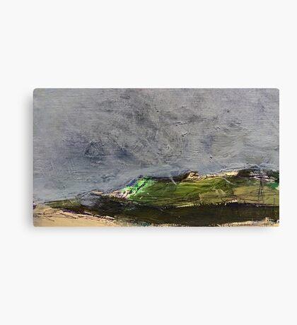 stormy moor Canvas Print
