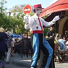 A Montmartre Street Performer (2) by cullodenmist