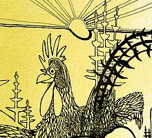 Golden the Cock calls by grarbaleg