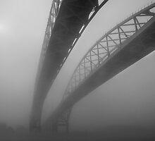 Bridge in the Fog by gharris