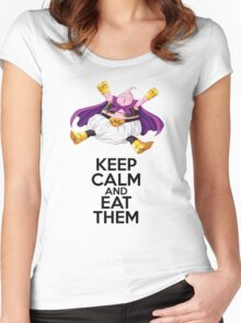 Buu - Keep Calm Women's Fitted Scoop T-Shirt