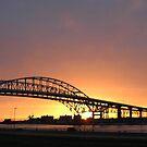 Sunrise at the Blue Water Bridge by gharris